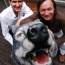 Werbeagentur Weigert Pirouz Wolf. v.l. Michael Weigert und Ewald Wolf. Die WELT.