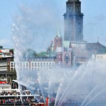 Hafengeburtstag Hamburg, Auslaufparade, Hamburg Messe.