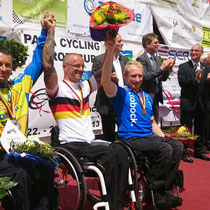 Siegerehrung Deutsche Meisterschaft Straßenrennen