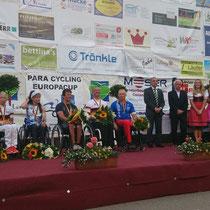 Siegerehrung Deutsche Meisterschaft Zeitfahren