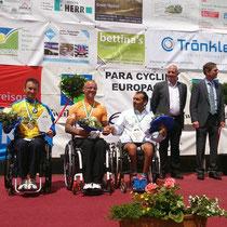 Siegerehrung Europacup Straßenrennen