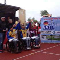 Siegerehrung Kassel Halbmarathon
