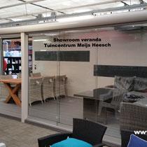 Tuinkamer showroom Heesch