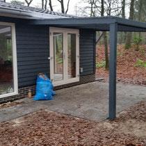 3x veranda aan bungalow Hooghalen