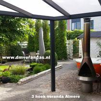 Almere driehoek veranda