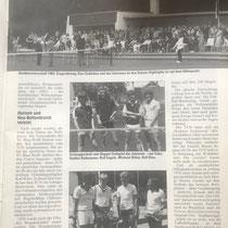Die 70er und  80er Stadtmeisterschaften.