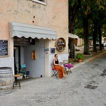 Die Weinbar in Castiglione d´Orcia, Toskana