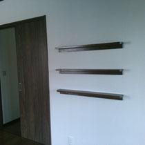 2階寝室 飾り棚