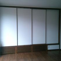 和室4.5帖 扉も閉まります。