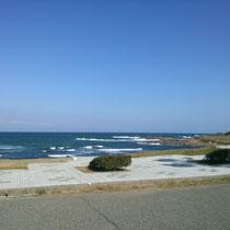 三国の海岸