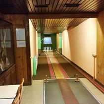 Kegelbahn 1 im Restaurant Orsoyer Berg