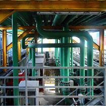 Impianto di raffreddamento acque