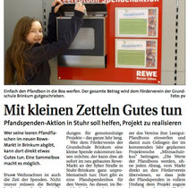 Weser Report, Lokalausgabe Huchting/Stuhr/Brinkum vom 29. Dezember 2013