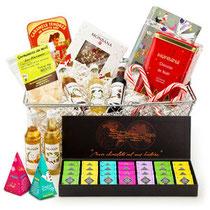 Coffret cadeau de Noël exclusif signé par la blogueuse culinaire ChefNini
