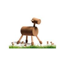 Siege de jeu enfant mouton