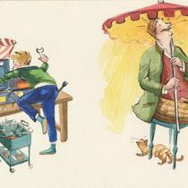 """""""Die Elternfernbedienung"""". Herrliche Erfindungen kreiert Tim im Kolonial Warenladen seines Onkels, bei dem er regelmäßig die Ferien verbringt. Was dann passiert, darauf darf man gespannt sein."""