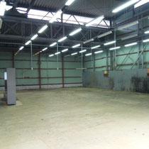 倉庫内部の写真です