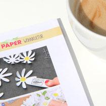 Gänseblümchenkranz mit Produkten von Stampin´ Up!