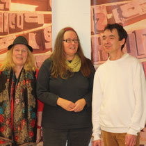 v.l.n.r. CAGrundei, Ulrike Hoffmann, Andreas Blum