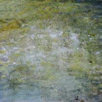 reflet-sirène - acrylique sur bois - 23x33 cm - 2014 - M - Pavlïn