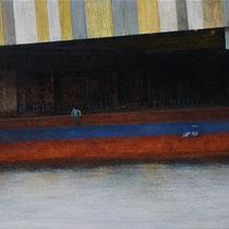 Jonas - acrylique sur bois - 100x73 cm - 2013 - M - Pavlïn