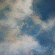 nuages - acrylique sur bois - 24x34 cm - 2008 - M - Pavlïn