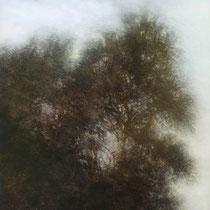 vent et chuchottement - acrylique sur bois - 100x61 cm - 2009 - M - Pavlïn