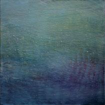 ondes - acrylique sur bois - 30x30 cm - 2012 - M - Pavlïn