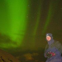 Polarlicht über der Insel Andøy, Norwegen. 2003 © Robert Hansen