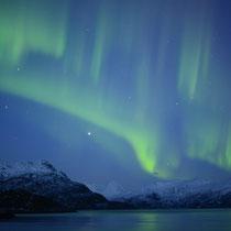 Polarlicht über Svartskard, Norwegen. 2014 © Robert Hansen