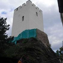 Bergfried von Norden