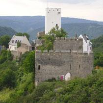Burg Sterrenberg vom Bauernstubenfenster aus