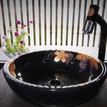 蒔絵の手洗い器
