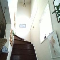 サロンは2階になります♪