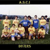 Juillet 1983: La cité de l'ill renforce le FC Muhlbach le village de Baratto