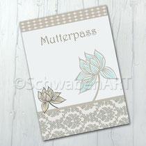 Bild: Mutterpasshülle Blumen