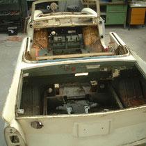 Amphicar vor dem Strahlen