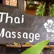 Gesundheitstipp: Thai Massage!