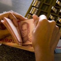 Lebenshaltungskosten in Thailand