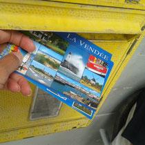 ©Emilie en Wallonie | Ecrit | Cartes postales | Vendée