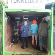 Andrang beim Tunnelblick