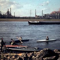 Rhein 1965, Hintergrund Thomas-Abstich HWR