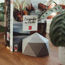 Ensemble de 2 appuis-livres en béton, Zen-It, 15$