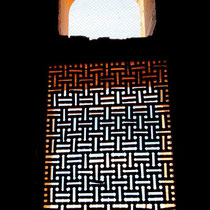 Sultan Tekesh, latticed window