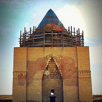 Tekesh Mausoleum - presumed Tomb of Sultan Ala al-din Tekesh, the founder of the Khwarezm Empire and its ruler between 1172-1201