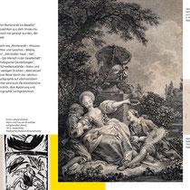 """Städtisches Museum Braunschweig / Ausstellung """"Von Rembrandt bis Baselitz"""" Programm-Flyer"""
