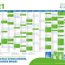 chemitas GmbH Akademie / Jahresplaner 2021
