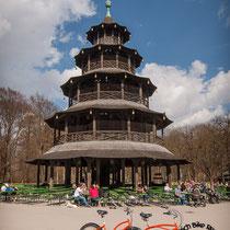 Chinesischer Turm Bier Garten