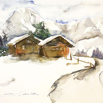 Hütten im Chiemgau