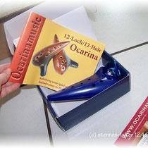 Ocarina von focalink mit Lehrbuch aus dem Hause Rotter (ocarinamusic)